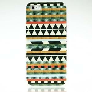 LZX Aztec Diamond Pattern PC Case for iPhone 4/4S