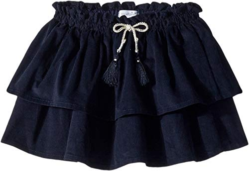 (Mud Pie Girls Navy Corduroy Skirt,Navy)