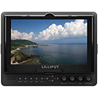 Lilliput 665gl-70np/h/y 7 On-Camera HD LCD Field Monitor w/HDMI in & Component In/Out Video in Video Out