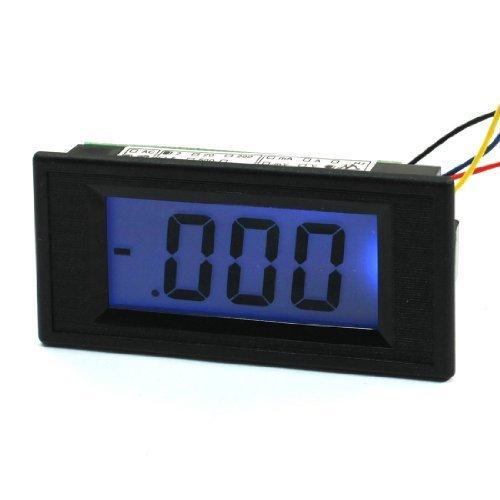 AC / DC Powered 4 Drähte LCD Display 0-2M Ohm-Panel-Widerstandsmessgerät