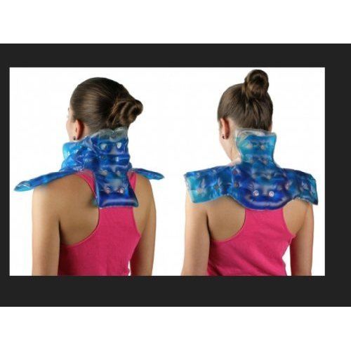 Neck & Shoulder + Lower Back + Belt Pouch Heating Pads, Hot & Cold Pads. Just Click It.