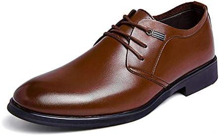 古典的なピュアカラーレースアップフォーマルシューズメンズファッションオックスフォードカジュアルシンプル 快適な男性のために設計