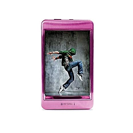Riptunes MP2128P 8GB 2 8-Inch Touch Screen MP3 and Video Player (Pink)
