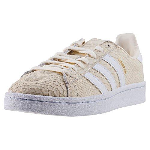 adidas Campus, Zapatillas Para Mujer Blanco (Blacre / Ftwbla / Dormet 000)