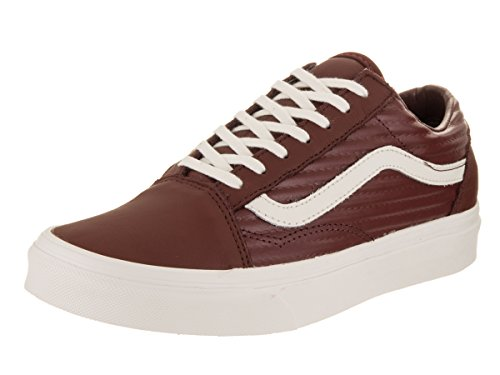 clearance from china Vans Unisex Old Skool Classic Skate Shoes Madder Brown/Blanc De Blanc cheap sale buy low cost for sale fake for sale abAzNq