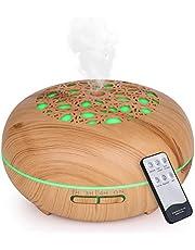 WD&CD Aroma Diffuser luchtbevochtiger 550ml met afstandsbediening