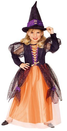 A Little Princess Costume (Little Princess Child's Pretty Witch Costume, Small)