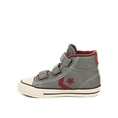 EV PLAYER STAR-MID Converse zapatillas para bebé niña marrón