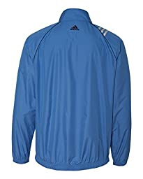 adidas Golf Mens 3-Stripes Full-Zip Jacket A169 -GULF S