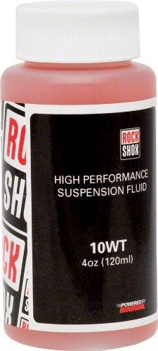 (RockShox 10wt Suspension Oil Suspension fork care 120 ml)