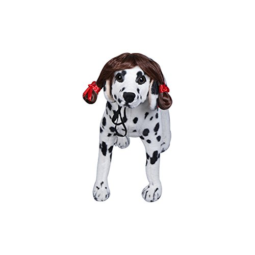 Boomtrader Halloween Pet Wig Dog For Wig Costume Adjustable Fancy Hair Dog Decoration - Adult Wiggles The Clown Costumes