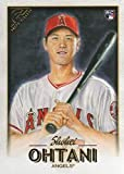 2018 Topps Gallery Baseball #116 Shohei Ohtani RC Rookie Los Angeles Angels Official MLB Trading Card