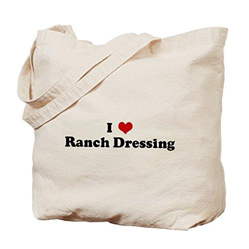 CafePress–I Love Ranch Dressing–Gamuza de bolsa de lona bolsa, bolsa de la compra