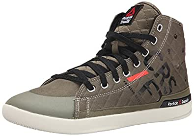 reebok men 39 s rcf lite tr training shoe modern olive black neon cherry chalk 8 5 m. Black Bedroom Furniture Sets. Home Design Ideas
