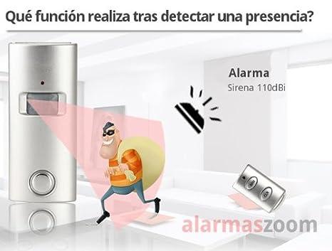 ALARMA HOGAR CON SIRENA DE CASA Y MANDO DISTANCIA QUE ...