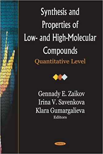 Synthesis And Properties of Low- And High-Molecular Compounds: Quantitative Level