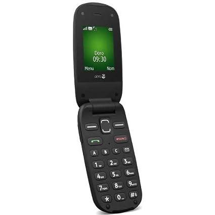 Téléphone GSM DORO PHONEEASY 606 NOIR