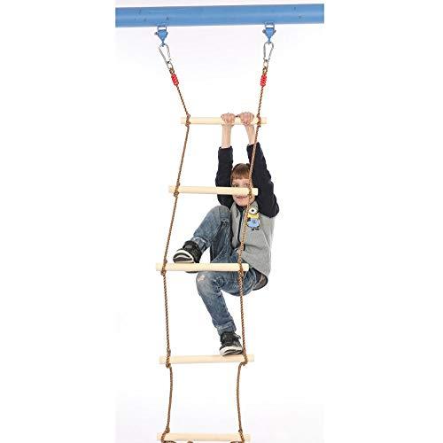 GYZ Climbing Ladder Wooden Children Climbing Ladder/Swing/Outdoor Sports Toys Amusement Equipment-1.8M Outdoor Toys by GYZ (Image #5)