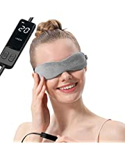Aroma Season Moist Heated Eye Mask for Blepharitis and Dry Eyes Treatment, Warm Therapy to Unclog glands, Relieve Stye eye, Dry Eye Syndrome and MGD (Gray)