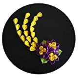 custom Japanese kimono Flower hair clips with long Falls daffodils hair accessories,F