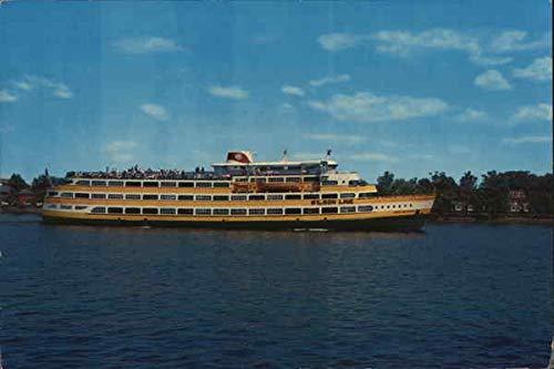 Wilson Line Cruise Ships Boats Ships Original Vintage Postcard