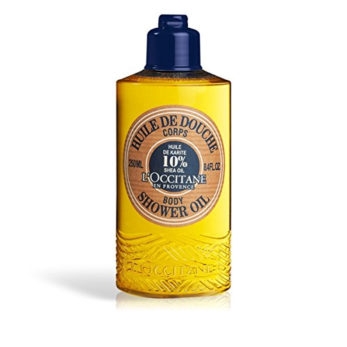 - L'Occitane Shea Body Shower Oil with 10% Shea Oil, 8.4 fl. oz.