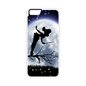 James-Bagg Phone case Tinker Bell Protective Case For Apple Iphone 6 Plus 5.5 inch screen Cases Style-4