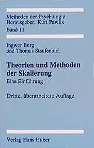 Theorien und Methoden der Skalierung. Eine Einführung.