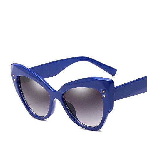 de creativos Retros Sol Unidos con D Gafas Gato Mujer Regalos Moda de de de de Las uñas Estados Gafas Las Sol Europa y Sol Tendencias Axiba Ojo arroz de Gafas Hombre zn6RYICY