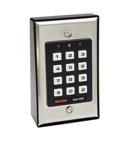 Sicherheits Digital Codeschloss DAK 2200 Türöffnen per Code Sabotagekontakt und Positionsüberwachung der Tür