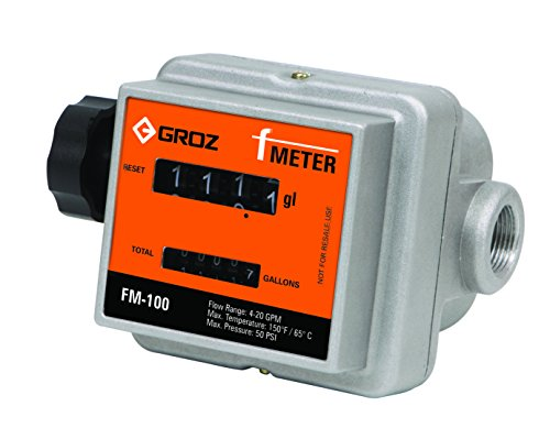 F Meter - Mechanical Fuel Meter (gal), 3/4