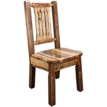 Amazon Com Cedarlooks 0100003 Log Dining Chair Patio