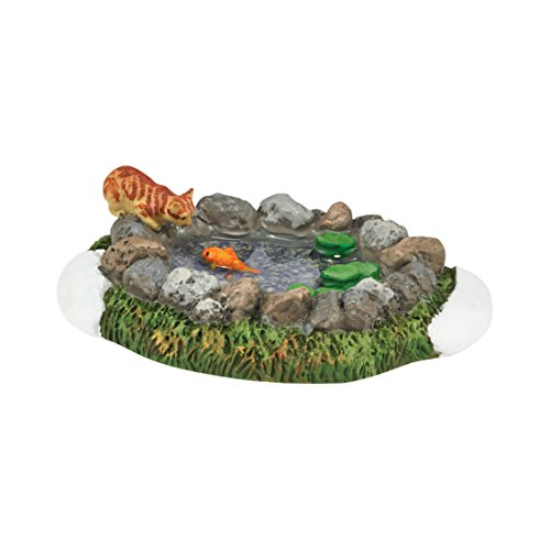 Department 56 Village Woodland Koi Pond Accessory, 1 inch -