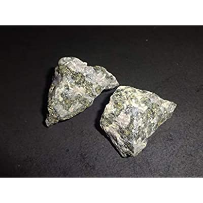 Mystic Merlinite / A-Grade Raw / Natural Rough / Crystal Healing Gemstone Collectible, Display ,Wrapping , Specimen Stone - 2 Piece Set: Toys & Games