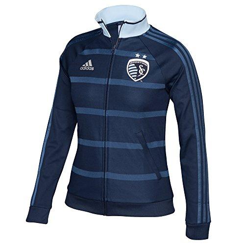 MLS Sporting Kansas City Women's Anthem Jacket, Large, Navy