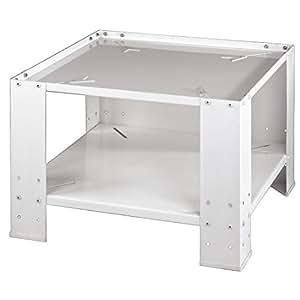 Xavax 00111078 - Base universal con estante inferior para lavadora y secadora