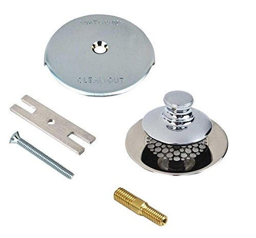Chrome Plated Replacement - Watco 48701-PP-CP-G Universal Nufit Pp Trim Kit, Chrome Plated