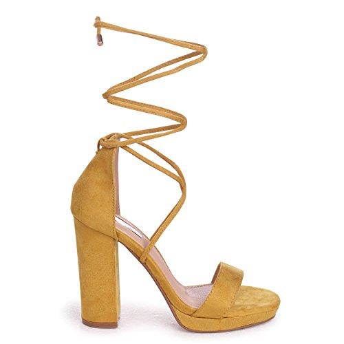 Yellow Suede pour Yellow Suede Jaune Escarpins Femme Linzi w10OIq0