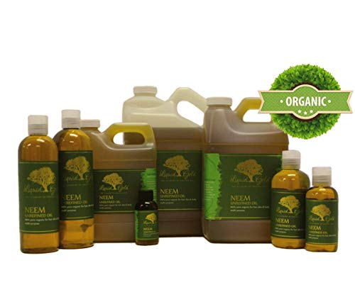 32 Fl.oz Premium Neem Oil Hair Growth & Scalp Skin Care Moisturizer Organic Cold Pressed