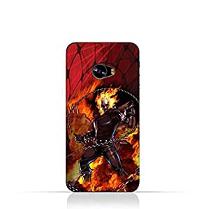 Xiaomi MI Note 2 TPU Protective Silicone Case With Ghost Rider Design