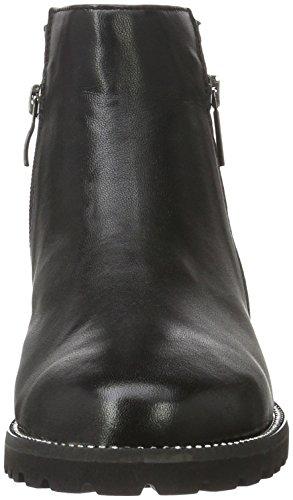 Black Bottes 25475 Courtes Nappa 22 Femme Caprice Noir 6Xn8q