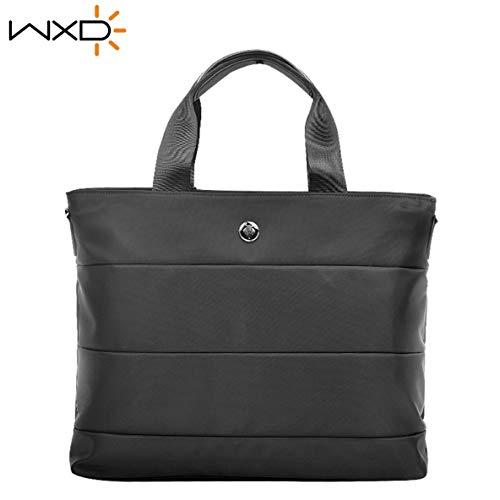 13 pouces Business Laptop Handbag Sac étanche Messenger Multifonctionnel Tote Notebook Grande capacité Sac de rangement Porte-documents