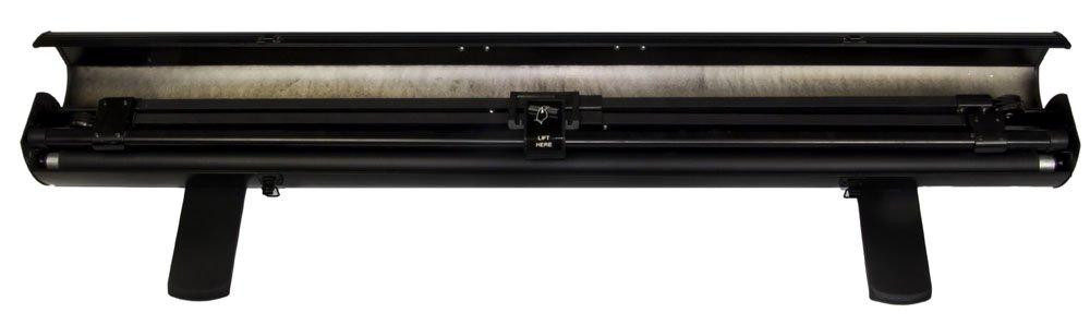 Modell 2015 Luxburg Mobile Kofferleinwand Boden Leinwand 122x91 cm mattwei/ße Oberfl/äche Full HD 3D Projektor Leinwand tragbar Diagonale ca. 60 Zoll // 153 cm