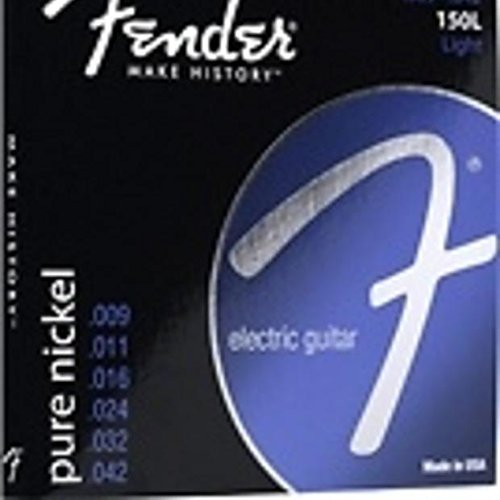 3 Sets of Fender 150L Pure Nickel Ball End 9-42 Light Electric Guitar Strings