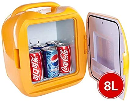 Amazon.es: HYMZP Nevera Coche, 8L Coche eléctrico Cool Box ...