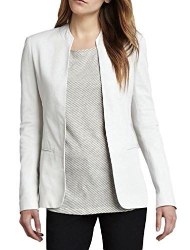 Blanc Xs Veste Peau En Trendtales Cuir D'agneau Femme Ttll869 x6fPOHzwq
