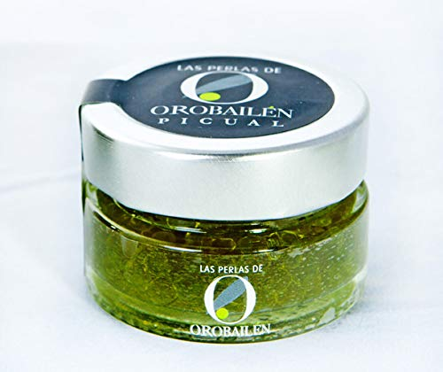 (Oro Bailen Extra Virgin Olive Oil Pearls Picual Premium 1.76 Oz.)