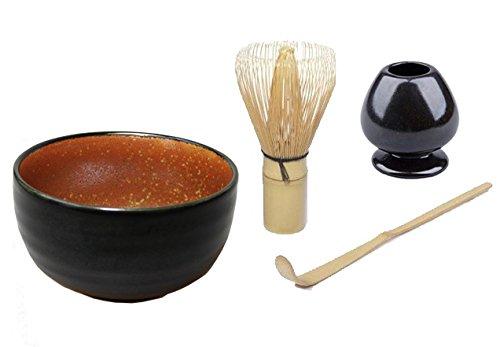 Quertee® - Matcha Set - Original japanische Matcha Schale