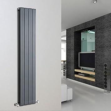 Hudson Reed – Heizkörper Aluminium Zentralheizung, anthrazit, 160 x ...