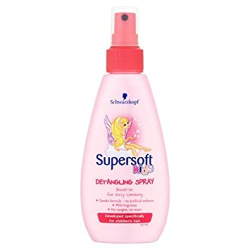 Supersoft Girls Detangling Spray, 150ml